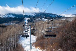 Ski lift at Snowmass Village